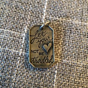Origami Owl necklace charm